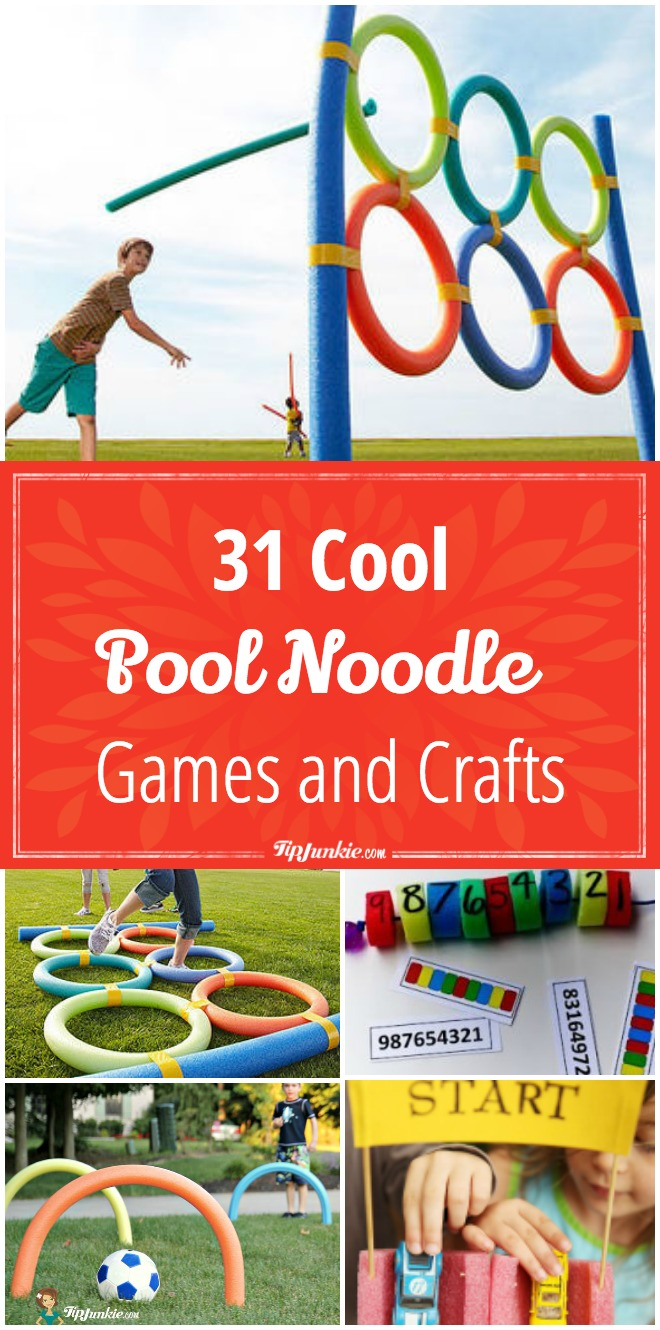 31 Cool Games And Crafts Using Pool Noodles Info You Should Know