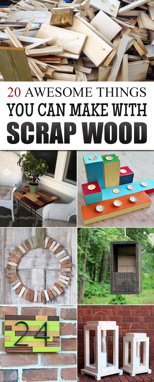 20 Useful Things You Can Make With Scrap Wood Info You