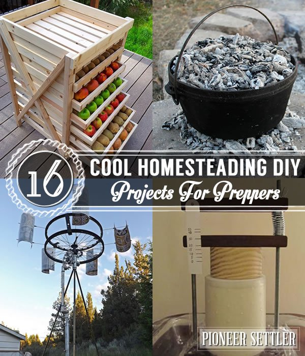 22 Diy Gardening Projects That You Can Actually Make: 16 Cool Homesteading DIY Projects For Preppers